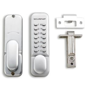 Securefast locks at locksmiths Corby