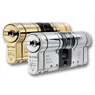 Ultion lock upgrades at locksmiths Corby