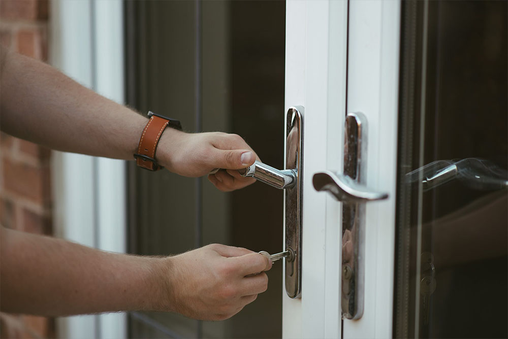 UPVC lock replacement and Hinge realignment services in Corby
